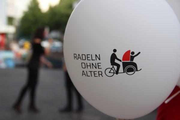 Luftballon Radeln ohne Alter Logo