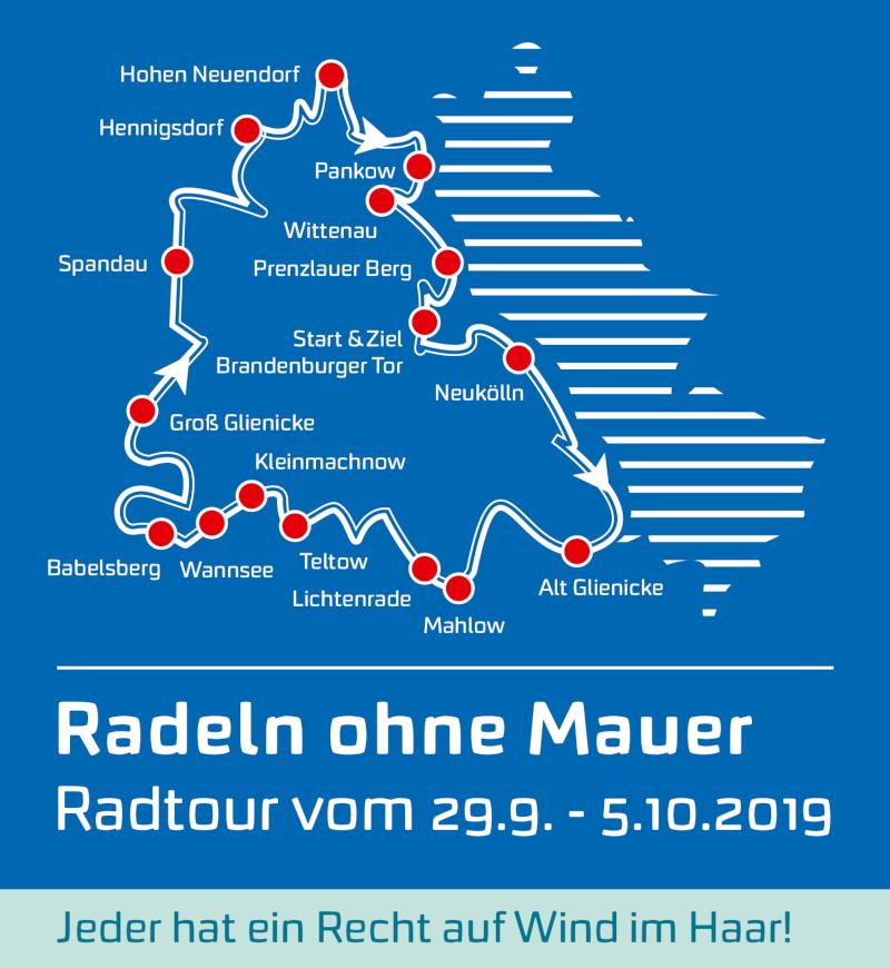 Tour Radeln ohne Mauer