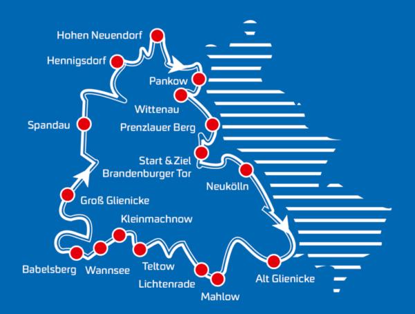Tour 2019 - Radeln ohne Mauer